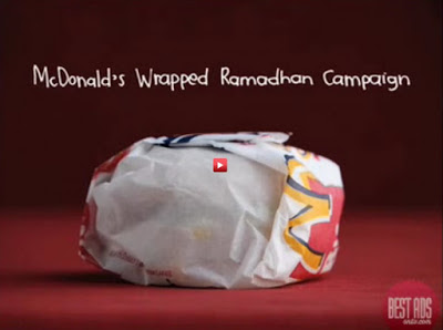 McDonalds Wrapped Ramadhan Campaign in Indonesia