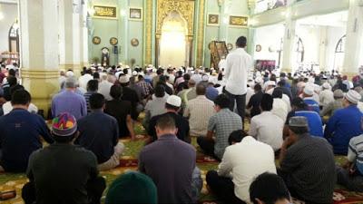 Terawih at Masjid Sultan
