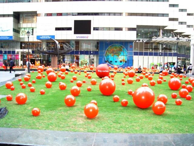 Balls at Raffles MRT resize