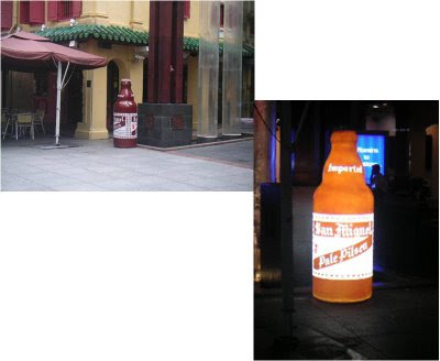 Giant San Miguel Bottle Singapore
