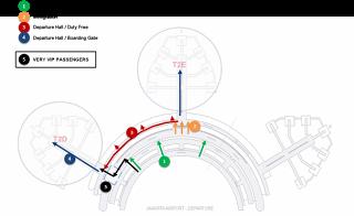 Jakarta Airport Accenture Lightbox Sites