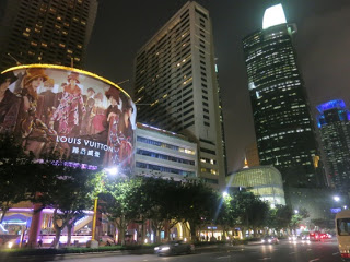 Louis Vuitton billboard in Shanghai from Maosuit