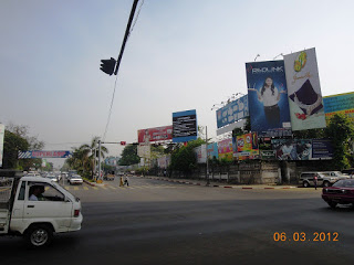 Myanmar Yangon Railway Traders Hotel Sakura Towers Outdoor Advertising 2012 Mar 6