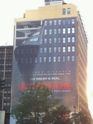 New York Outdoor billding poster Inception