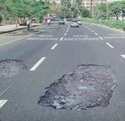 Optical Illusions Potholes 1