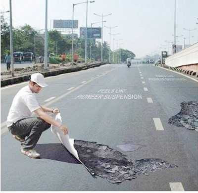 Optical Illusions Potholes 2