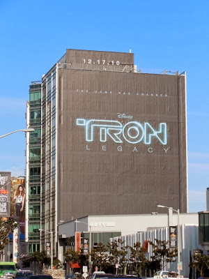 Outdoor poster Tron legacy United States day