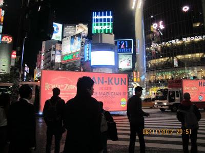 Shibuya Tokyo Billboard 2012 Nov 1