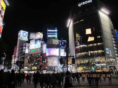 Shibuya Tokyo Billboard 2012 Nov 2