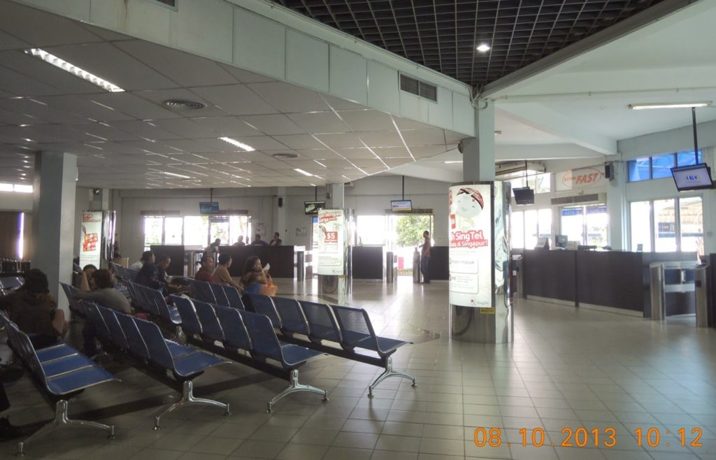 Singtel Advertising Singapore Batam Centre Point Ferry Terminal 2014 Feb 28