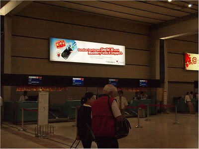 Singtel at Jakarta Airport International Advertising 2011