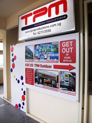 TPM Office Singapore Outdoor Advertising Singapore 2010