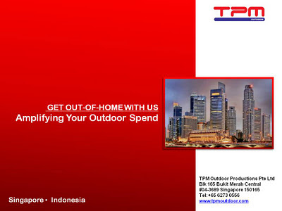 TPM Rate Card Singapore 2012