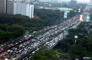 Typical Traffic in Jakarta