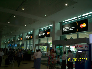 Yangon International Airport Arrival MasterCard Network 3