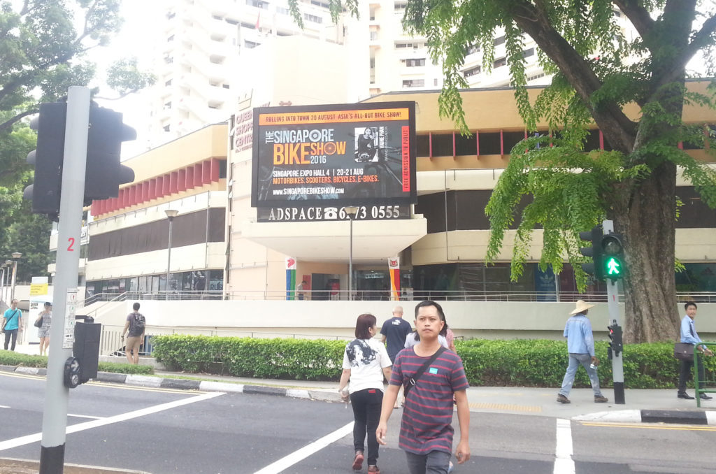Singapore Bike Show 2016 @ Queensway Shopping Centre LED