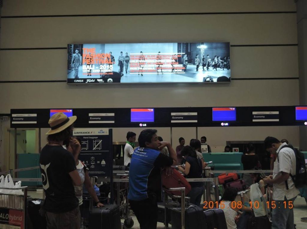 Bali Fashion Week @ Jakarta International Airport