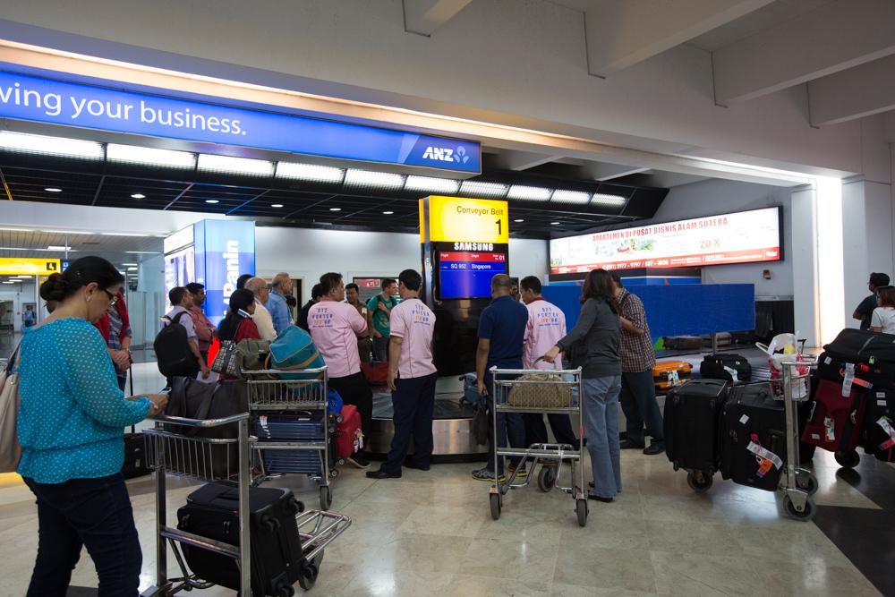Jakarta Airport Terminal 2 Baggage Claim