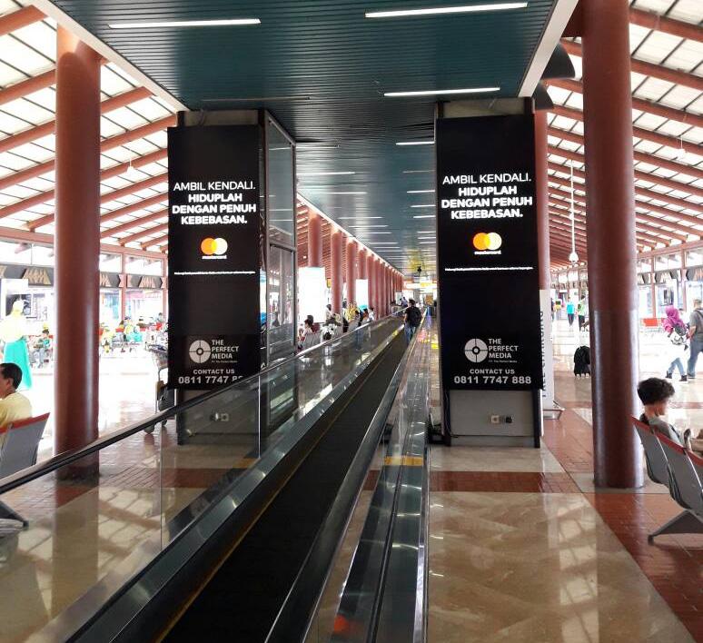 Mastercard with TPM targeting peak periods at Soekarno-Hatta Airport
