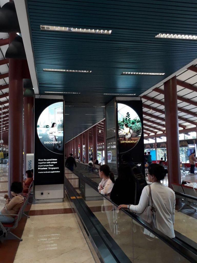 MasterCard @ Jakarta International Airport
