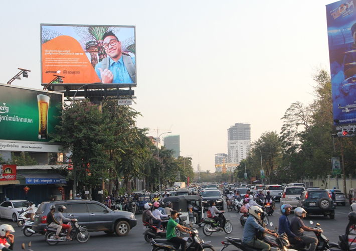 Jetstar-Campaign-at-Cambodia-with-Creative-Outdoor-Advertising-3
