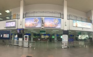 Vietnam Airlines Laos Outdoor Advertising Wattay International Airport 01