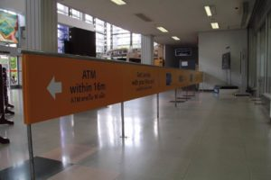 Visa Wattay International Airport Outdoor Advertising Laos