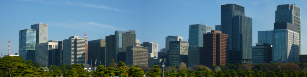 Skyline of Marunouchi Building