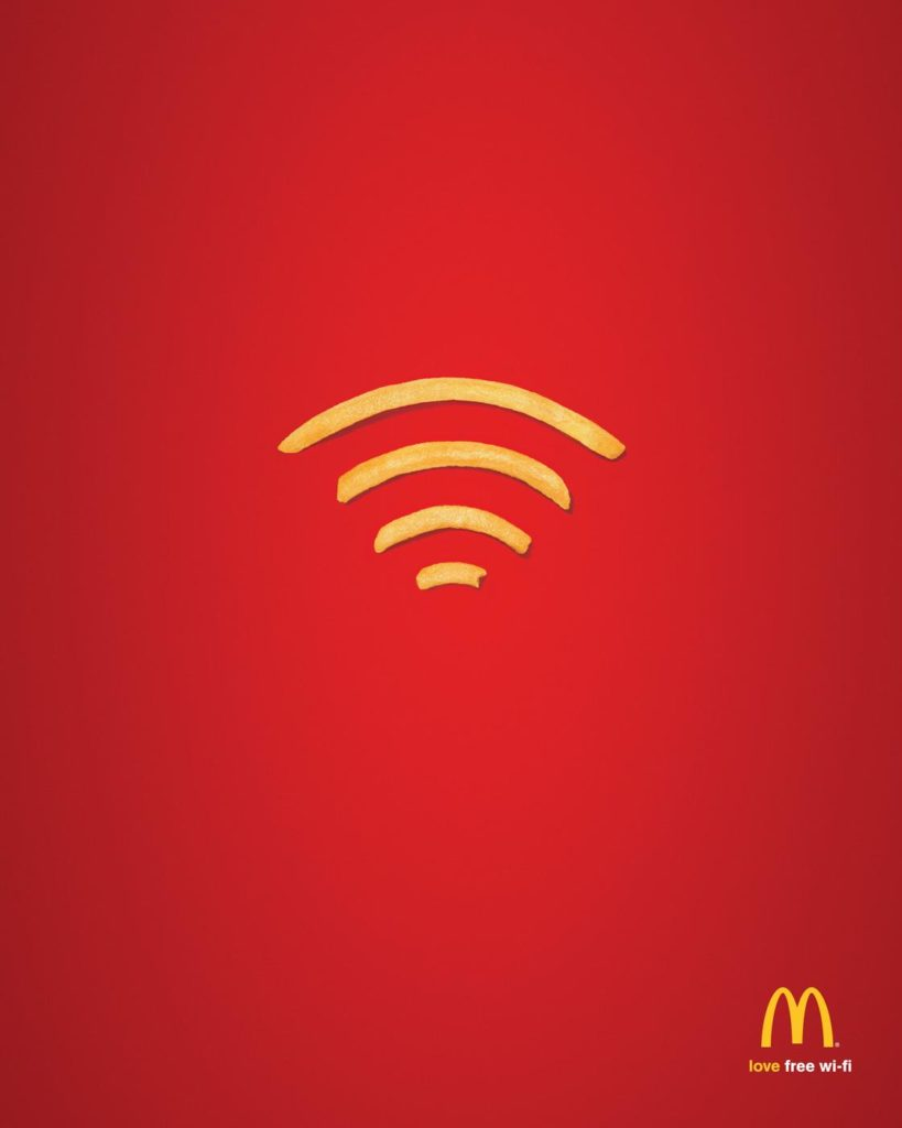 McDonald's Wi-Fries by DDB Australia