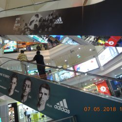World Cup - Queensway Escalator