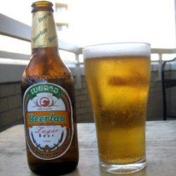 Laos Outdoor Advertising Scene Lao Beer