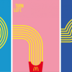 The Drum McDonalds France Billboards Fries Exit at the Third Roundabout