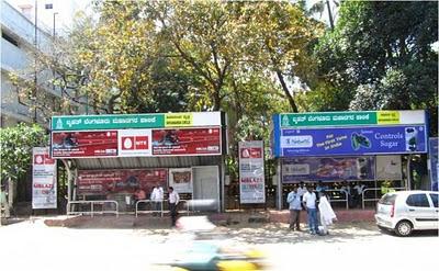 Bus Shelter Bangalore 2011 Mar 15 (Day)