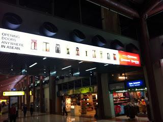 CIMB Advertisement Jakarta Airport 2013