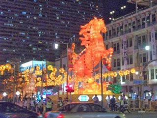 Chinese New Year in Chinatown Singapore 2014 Feb 14