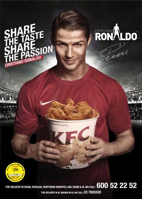 Cristiano Ronaldo KFC Commercial