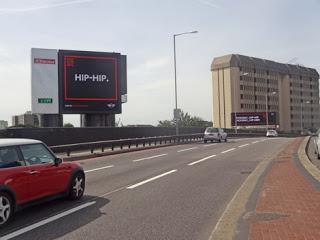 Digital Billboard Mini - Hip Hip