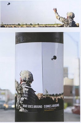 Global Coalition For Peace Grenade Poster