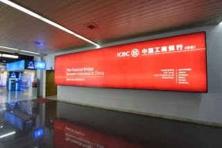 Jakarta Airport Arrival ICBC Lightbox 1