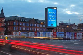 Playstation 4 PS4 Digital Display See you in the morning roadside