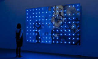 SCAI The Bathhouse Tokyo from the Guardian (Warp Time installation by Tatsuo Miyajima)