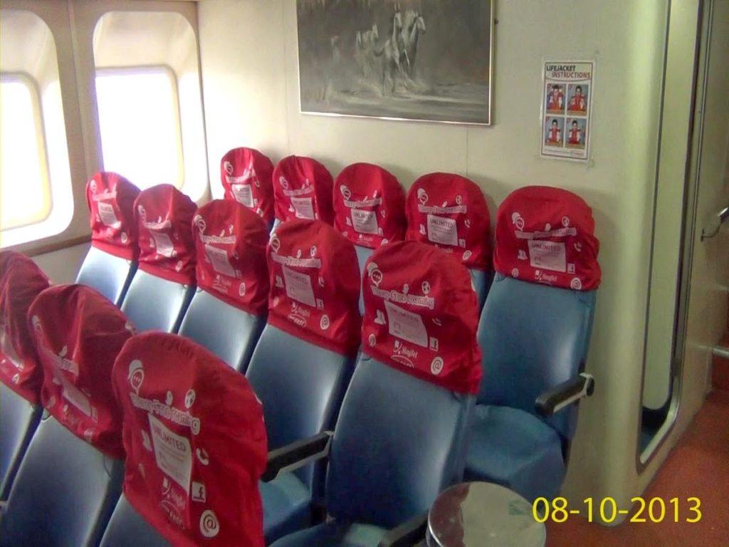 Singtel Batam Fast Ferry Headrest Advertising Singapore 2014 Feb 28-2
