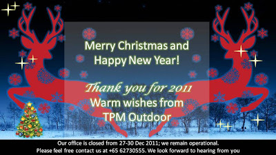 TPM Merry Christmas Message 2011