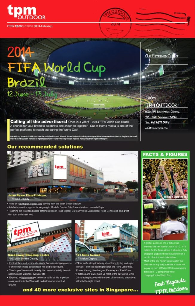 TPM Newsletter - World Cup 2014 Feb 19-1