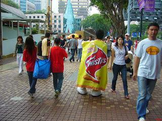 Twisties Life-Size Mascot