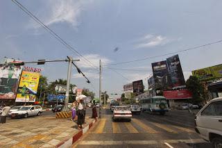 Yangon CBD Bo Gyoke and Sule Pagoda Road