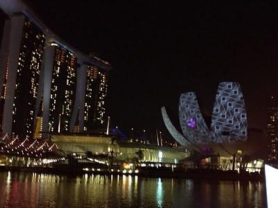 iLight Marina Bay 2012 Garden of Light Hexogon 2
