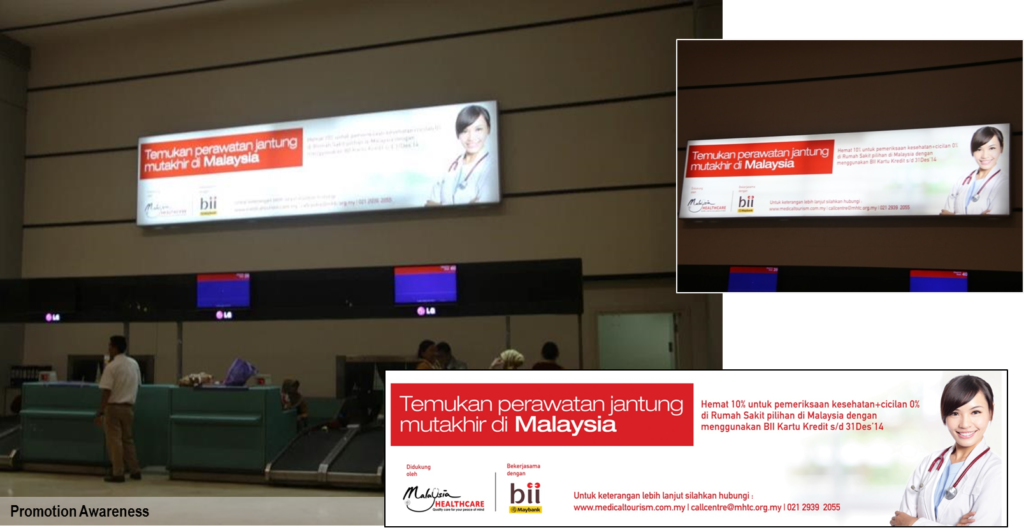 Malaysia Healthcare Tourism Council @ Soekarno-Hatta Jakarta International Airport