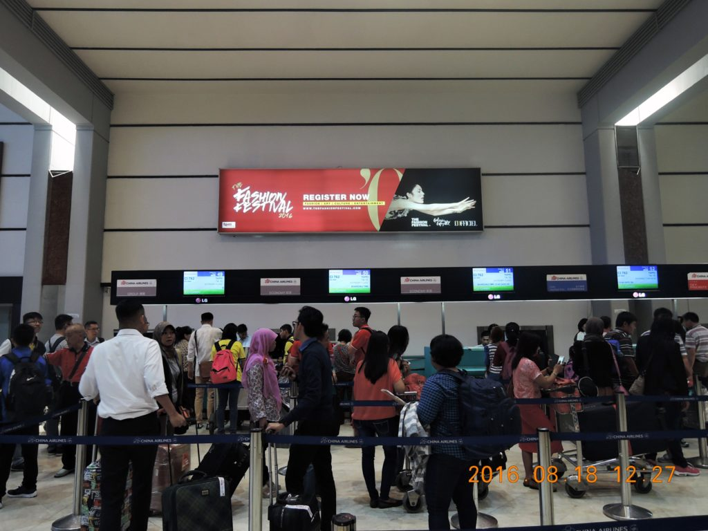 Fashion Festival @ Jakarta Airport, Indonesia