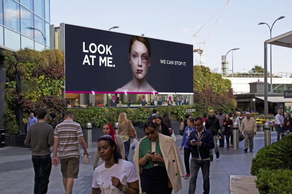 Creative Outdoor Ads - Look at Me